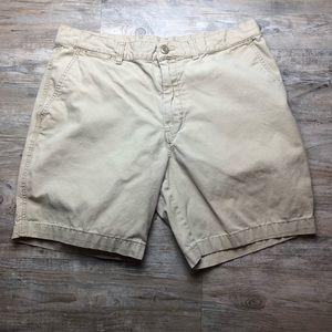 Patagonia men's organic cotton khaki shorts